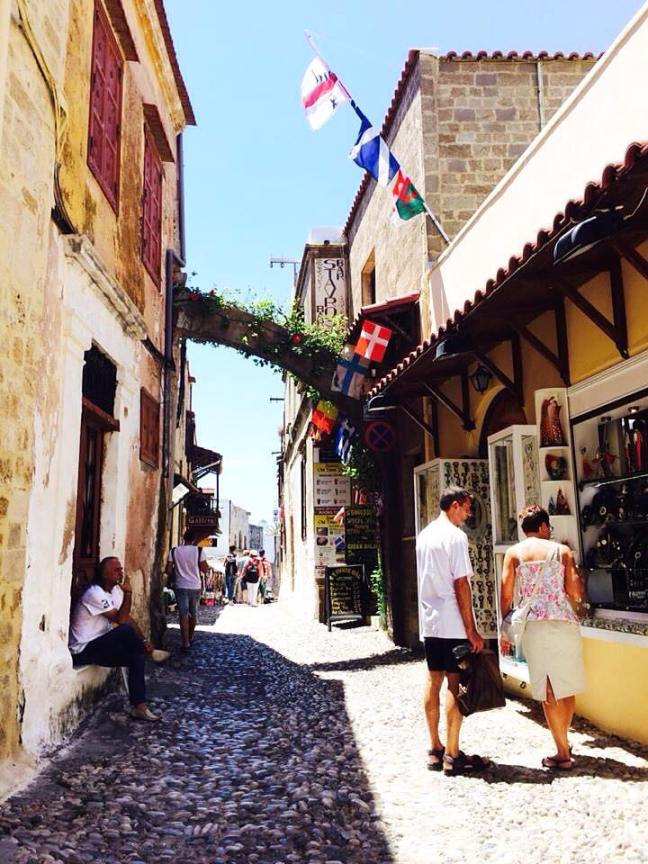 Little streets in Old Town